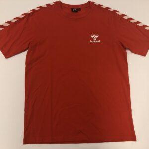 hummel T-shirt i rød