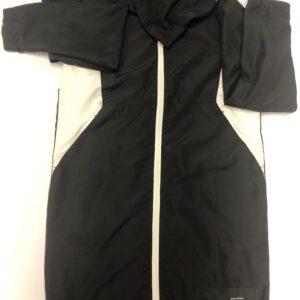 hummel jakke med zip sort med hvid