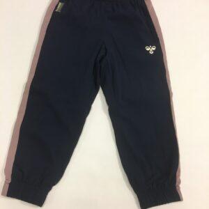 hummel bukser mørkeblå med lilla