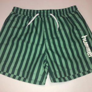 hummel shorts grønne med striber