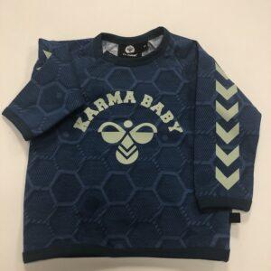 hummel t-shirt blå karma baby