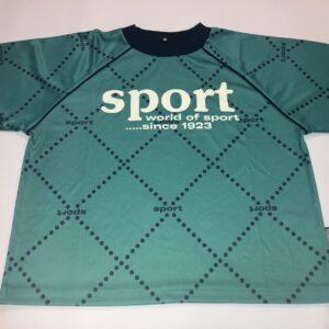 hummel t-shirt grøn