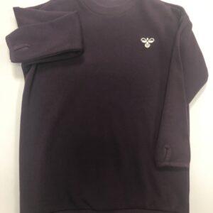 hummel trøje mørkelilla