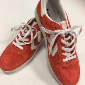 hummel sko orange str. 42