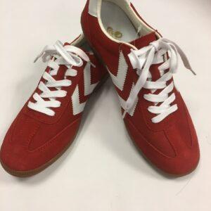 hummel sko rød str. 42