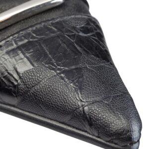 Sorte håndsyede designersko fra Women Power Shoes