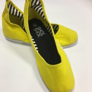 Ballerina gul fra ShoeShoe