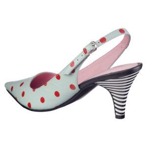 Prikkede håndsyede designersko fra Women Power Shoes