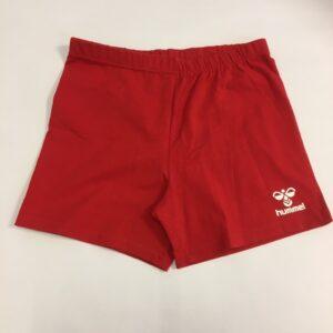 Røde shorts til kvinder fra hummel